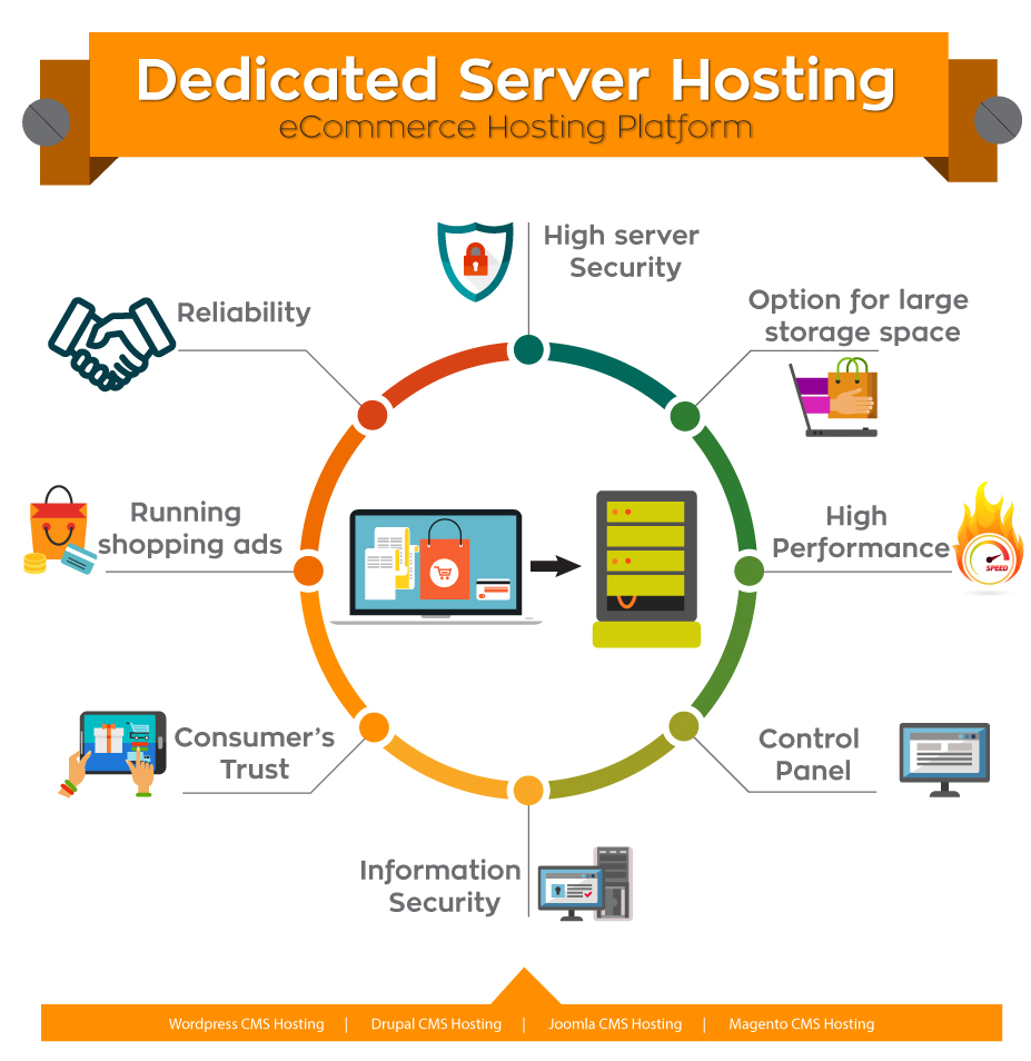 Reasons Why Ecommerce Website Need A Dedicated Hosting Server And