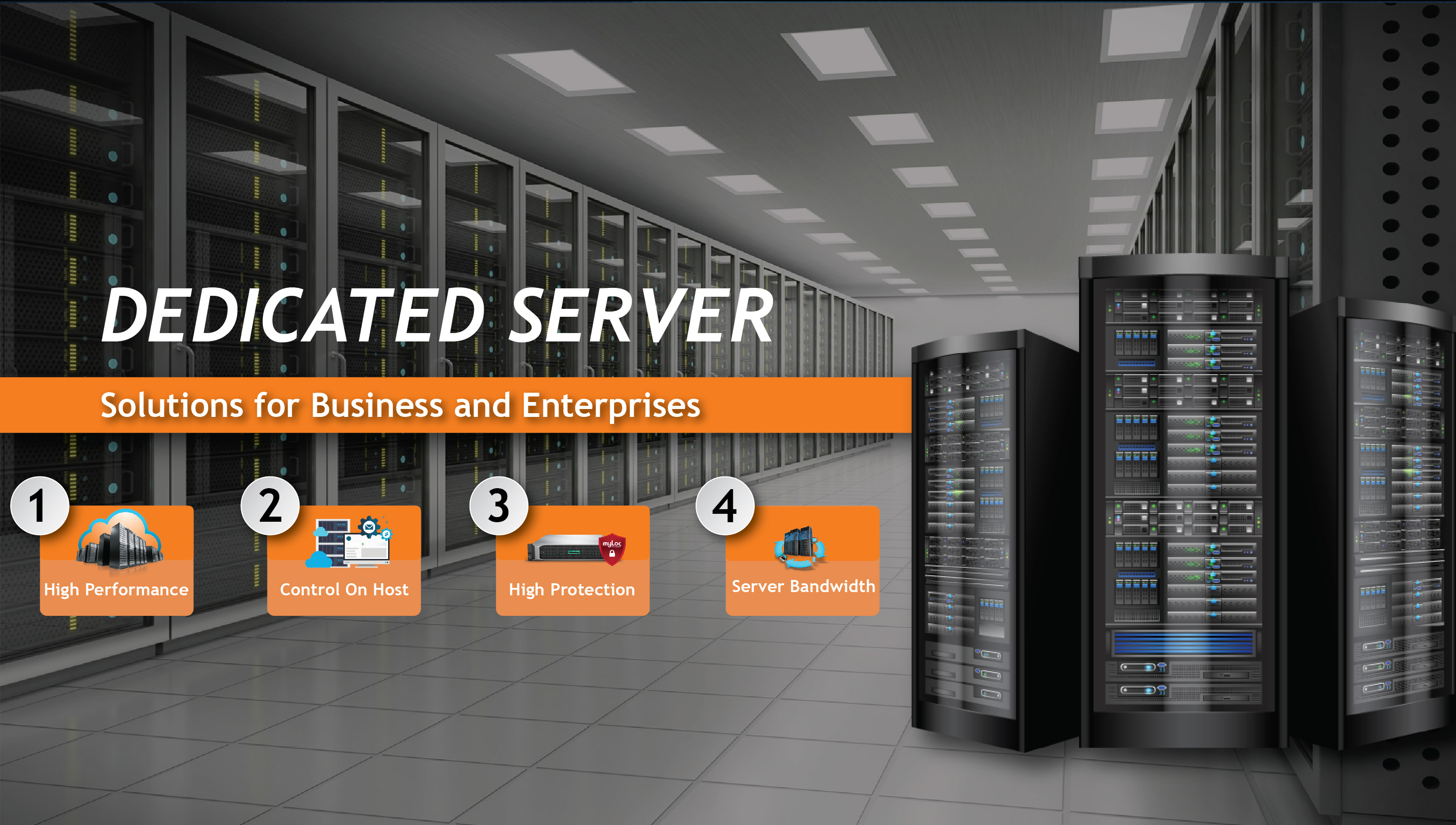 Dedicated Server Solutions for Business and Enterprises