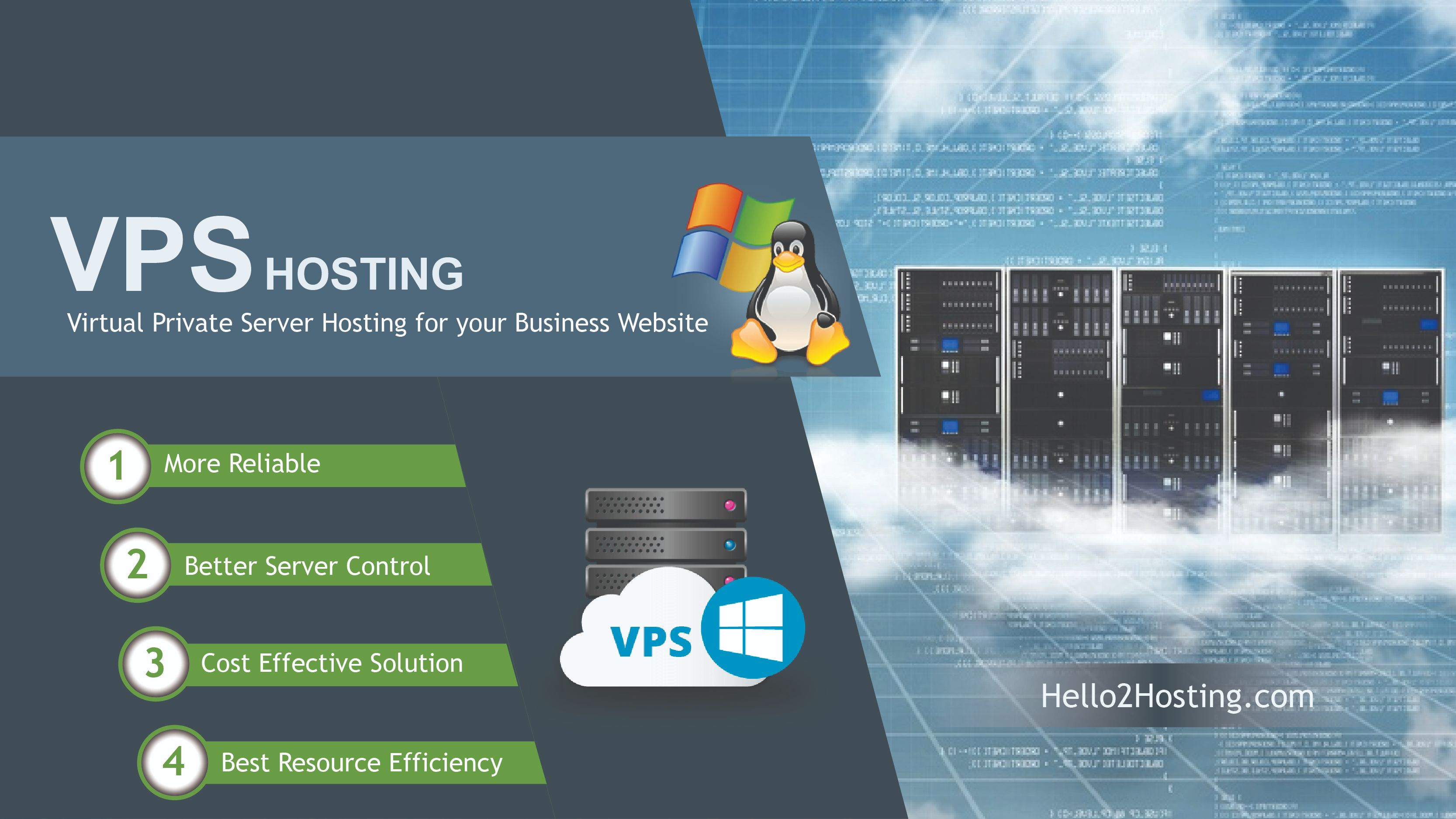 Top 5 Benefits of Virtual Private Server Hosting for your Business Website