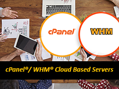 cPanel whm cloud based server