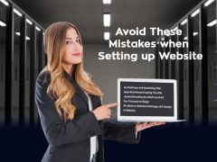 Avoid These Mistakes when Setting up Website