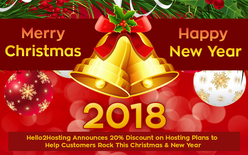 Hello2Hosting Announces 20% Discount on Hosting Plans to Help Customers Rock This Christmas & New Year